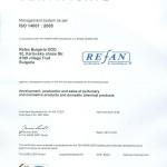 CERTIFICAT ISO 14001:2005