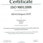 CERTIFICAT ISO9001:2008