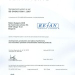 CERTIFICAT OHSAS 18001:2007